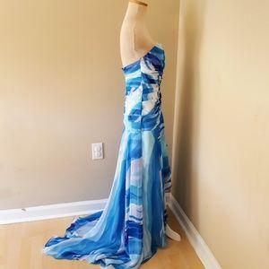 Tiffany Designs Dresses - Tiffany Designs 0 High Low Ruffle Dress Gown